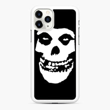Load image into Gallery viewer, Skull Logo iPhone 11 Pro Case, White Rubber Case | Webluence.com