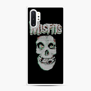 Skull Threadpixel Samsung Galaxy Note 10 Plus Case, White Rubber Case | Webluence.com