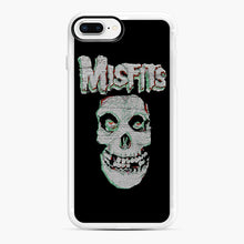 Load image into Gallery viewer, Skull Threadpixel iPhone 7,8 Plus Case, White Rubber Case | Webluence.com