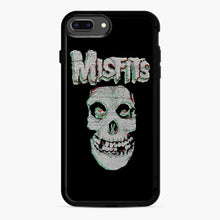 Load image into Gallery viewer, Skull Threadpixel iPhone 7,8 Plus Case, Black Rubber Case | Webluence.com