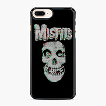 Load image into Gallery viewer, Skull Threadpixel iPhone 7,8 Plus Case, Black Plastic Case | Webluence.com