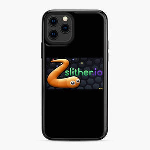 Slither.Io Fortnite iPhone 11 Pro Case, Black Plastic Case