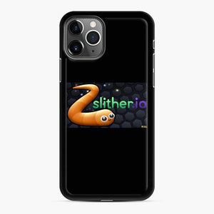 Slither.Io Fortnite iPhone 11 Pro Case, Black Rubber Case