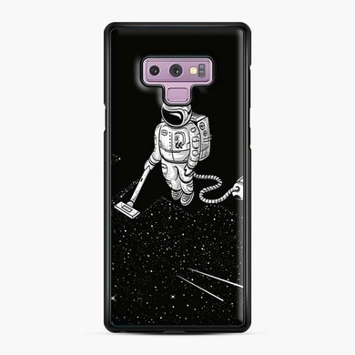 Space Cleaner Samsung Galaxy Note 9 Case, Black Plastic Case | Webluence.com