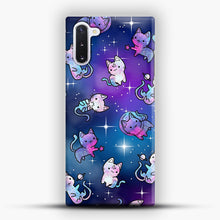 Load image into Gallery viewer, Space Kitties 1 Samsung Galaxy Note 10 Case, Snap Case | Webluence.com