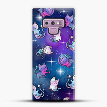 Load image into Gallery viewer, Space Kitties 1 Samsung Galaxy Note 9 Case, Snap Case | Webluence.com