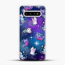 Load image into Gallery viewer, Space Kitties 1 Samsung Galaxy S10 Plus Case, Snap Case | Webluence.com