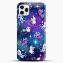 Load image into Gallery viewer, Space Kitties 1 iPhone 11 Pro Case, Snap Case | Webluence.com