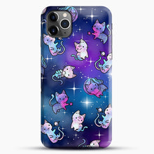 Load image into Gallery viewer, Space Kitties 1 iPhone 11 Pro Max Case.jpg, Snap Case | Webluence.com