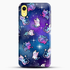 Space Kitties 1 iPhone XR Case, Snap Case | Webluence.com