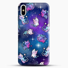 Load image into Gallery viewer, Space Kitties 1 iPhone X/XS Case, Snap Case | Webluence.com