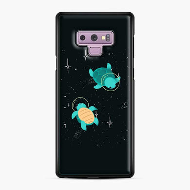 Space Turtles Samsung Galaxy Note 9 Case, Black Plastic Case | Webluence.com
