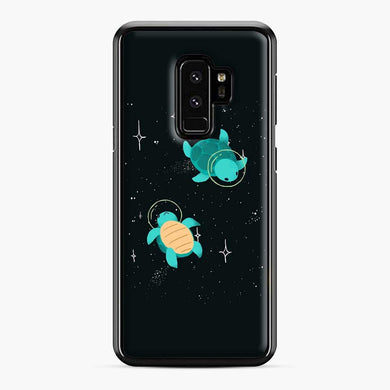 Space Turtles Samsung Galaxy S9 Plus Case, Black Plastic Case | Webluence.com