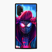 Load image into Gallery viewer, Spiderverse Spiderman verse Samsung Galaxy Note 10 Plus Case, Black Rubber Case