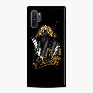 Strife And Fenrir Samsung Galaxy Note 10 Plus Case, Snap Case