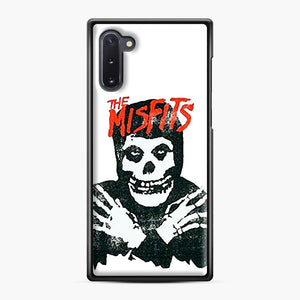 Summer Misfits Skull Samsung Galaxy Note 10 Case, Black Plastic Case | Webluence.com