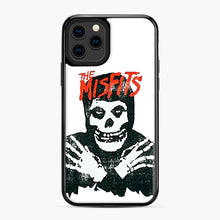 Load image into Gallery viewer, Summer Misfits Skull iPhone 11 Pro Case, Black Plastic Case | Webluence.com