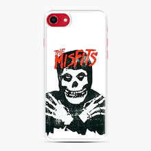 Load image into Gallery viewer, Summer Misfits Skull iPhone 7/8 Case, White Plastic Case | Webluence.com