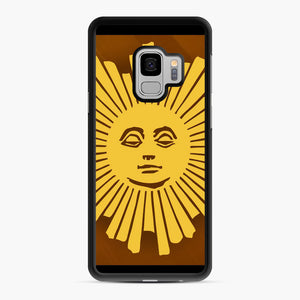 Sunday Morning Icon Cbs News Kuralt Osgood Samsung Galaxy S9 Case, Black Rubber Case | Webluence.com