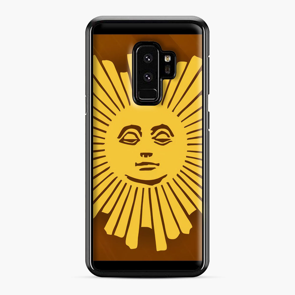 Sunday Morning Icon Cbs News Kuralt Osgood Samsung Galaxy S9 Plus Case, Black Plastic Case | Webluence.com