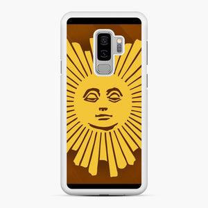 Sunday Morning Icon Cbs News Kuralt Osgood Samsung Galaxy S9 Plus Case, White Rubber Case | Webluence.com