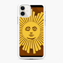 Load image into Gallery viewer, Sunday Morning Icon Cbs News Kuralt Osgood iPhone 11 Case, White Rubber Case | Webluence.com