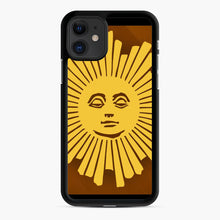 Load image into Gallery viewer, Sunday Morning Icon Cbs News Kuralt Osgood iPhone 11 Case, Black Rubber Case | Webluence.com