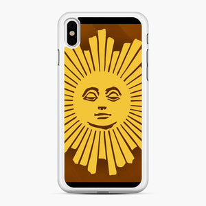 Sunday Morning Icon Cbs News Kuralt Osgood iPhone XS Max Case, White Rubber Case | Webluence.com