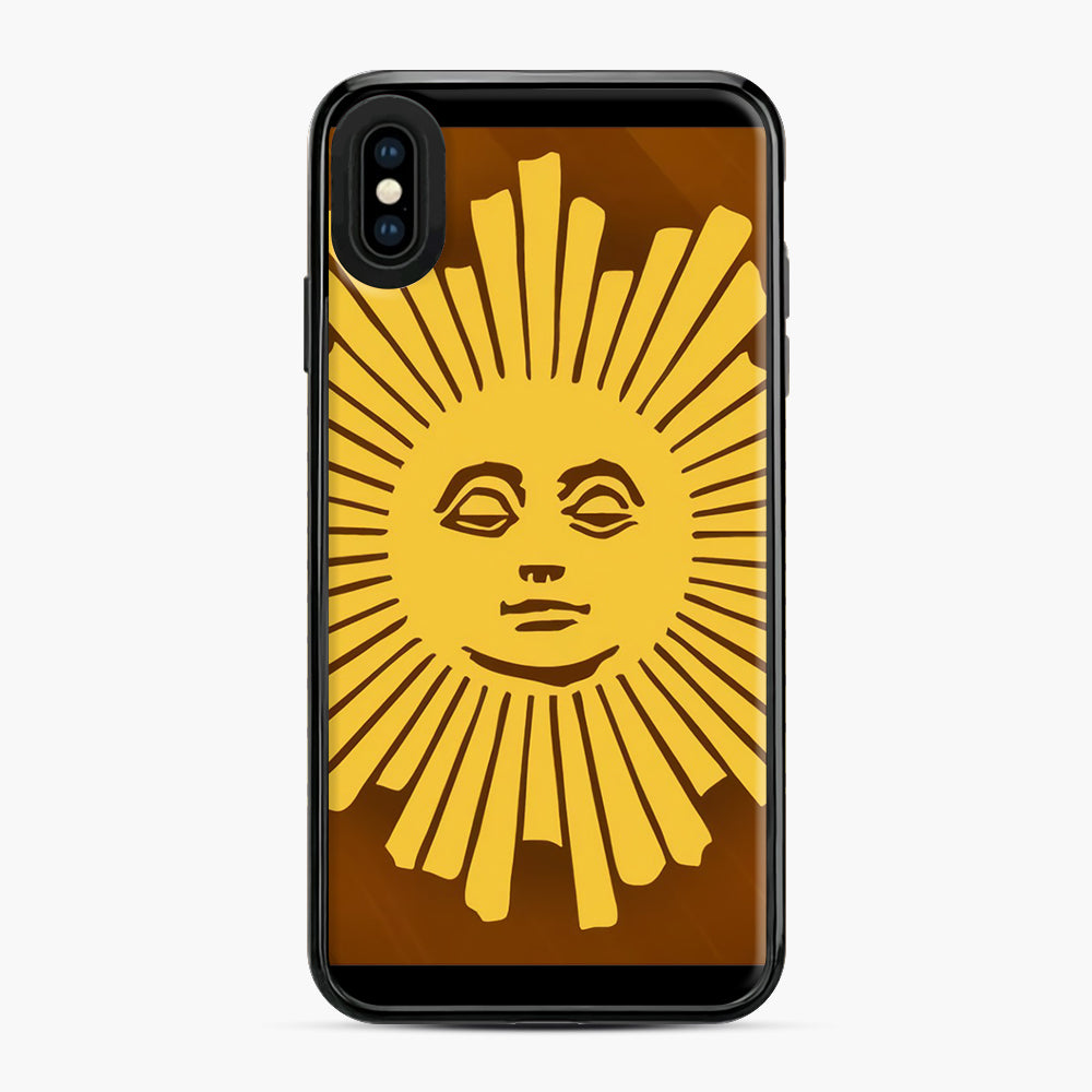 Sunday Morning Icon Cbs News Kuralt Osgood iPhone XS Max Case, Black Plastic Case | Webluence.com