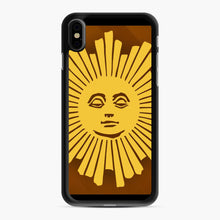 Load image into Gallery viewer, Sunday Morning Icon Cbs News Kuralt Osgood iPhone XS Max Case, Black Rubber Case | Webluence.com
