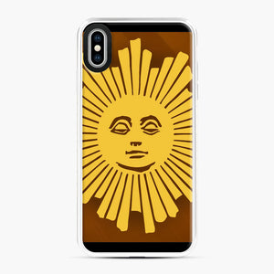 Sunday Morning Icon Cbs News Kuralt Osgood iPhone XS Max Case, White Plastic Case | Webluence.com