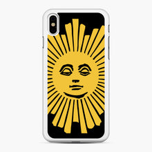 Load image into Gallery viewer, Sunday Morning Icon Cbs iPhone XS Max Case, White Rubber Case | Webluence.com