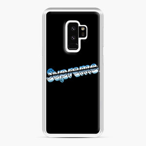 Supreme Chrome Logo Samsung Galaxy S9 Plus Case, White Plastic Case | Webluence.com