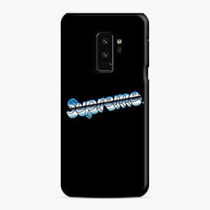 Supreme Chrome Logo Samsung Galaxy S9 Plus Case, Snap Case | Webluence.com