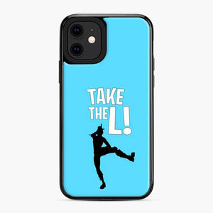 Take The L Fortnite 3 iPhone 11 Case, Black Plastic Case