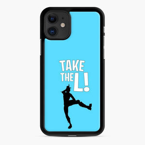 Take The L Fortnite 3 iPhone 11 Case, Black Rubber Case
