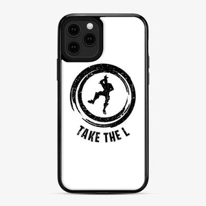 Take The L Fortnite 4 iPhone 11 Pro Case, Black Plastic Case