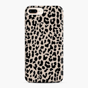 Tan Leopard Pattern iPhone 7 Plus/8 Plus Case, Snap Case | Webluence.com