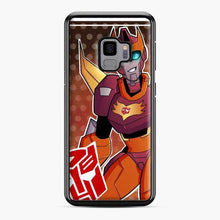Load image into Gallery viewer, Tfa Rodimus Samsung Galaxy S9 Case, Black Plastic Case