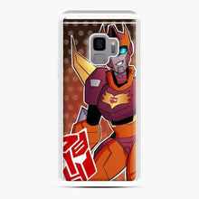 Load image into Gallery viewer, Tfa Rodimus Samsung Galaxy S9 Case, White Plastic Case
