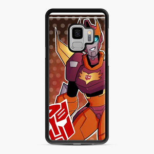 Tfa Rodimus Samsung Galaxy S9 Case, Black Rubber Case