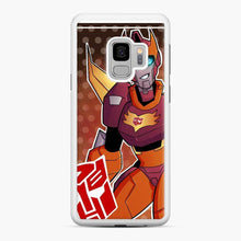 Load image into Gallery viewer, Tfa Rodimus Samsung Galaxy S9 Case, White Rubber Case