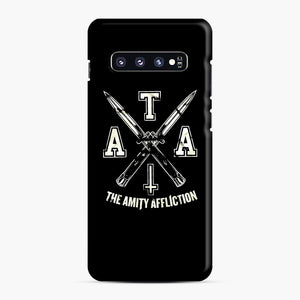 The Amity Affliction TAA Samsung Galaxy S10 Plus Case, Snap Case | Webluence.com