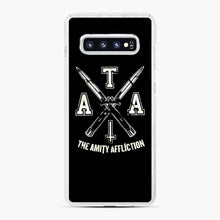 Load image into Gallery viewer, The Amity Affliction TAA Samsung Galaxy S10 Plus Case, White Plastic Case | Webluence.com