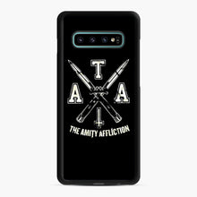 Load image into Gallery viewer, The Amity Affliction TAA Samsung Galaxy S10 Plus Case, Black Rubber Case | Webluence.com