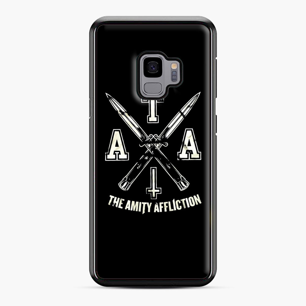 The Amity Affliction TAA Samsung Galaxy S9 Case, Black Plastic Case | Webluence.com