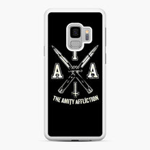 Load image into Gallery viewer, The Amity Affliction TAA Samsung Galaxy S9 Case, White Rubber Case | Webluence.com