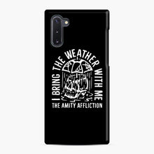 Load image into Gallery viewer, The Amity Affliction The Amity Affliction Samsung Galaxy Note 10 Case, Snap Case | Webluence.com
