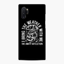 Load image into Gallery viewer, The Amity Affliction The Amity Affliction Samsung Galaxy Note 10 Plus Case, Black Rubber Case | Webluence.com