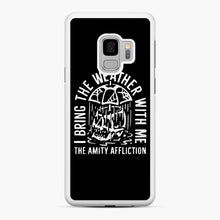 Load image into Gallery viewer, The Amity Affliction The Amity Affliction Samsung Galaxy S9 Case, White Rubber Case | Webluence.com